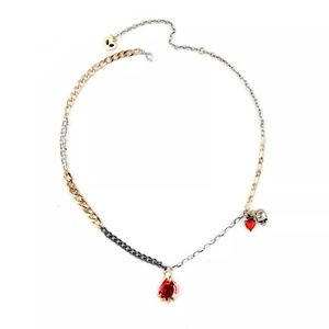 Jewelry - Snow White Evil Queen's Poison Apple Necklace